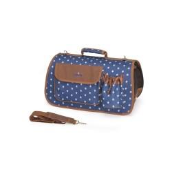 Trasportino stelle e cuori con tasche e tracolla ideale per piccoli animali Trasportini Camon