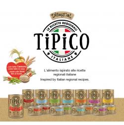 Umido Tipico monoproteico per cani ispirato alle ricette italiane Disugual Cibo Umido TiPiCo