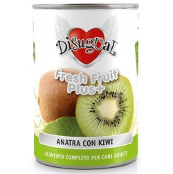 Cibo umido monoproteico con frutta fresca Fresh Fruit Plus Disugual per cani adulti Cibo Umido